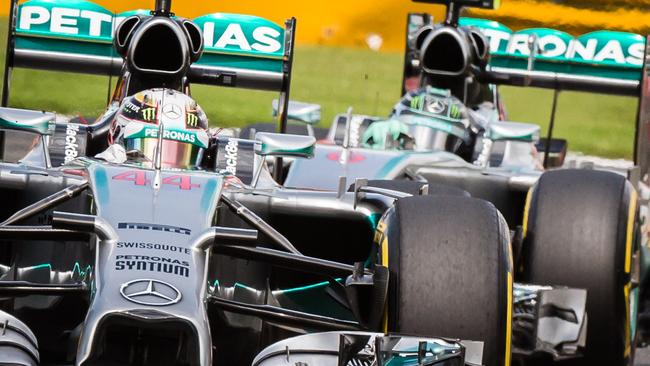 Was the Mercedes clash payback for Rosberg?
