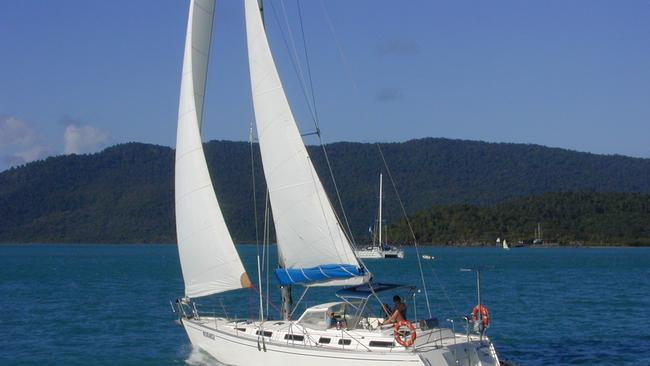 Moondancer II, which Carmel Brookes was sailing when she vanished, is for sale for $US67,000.