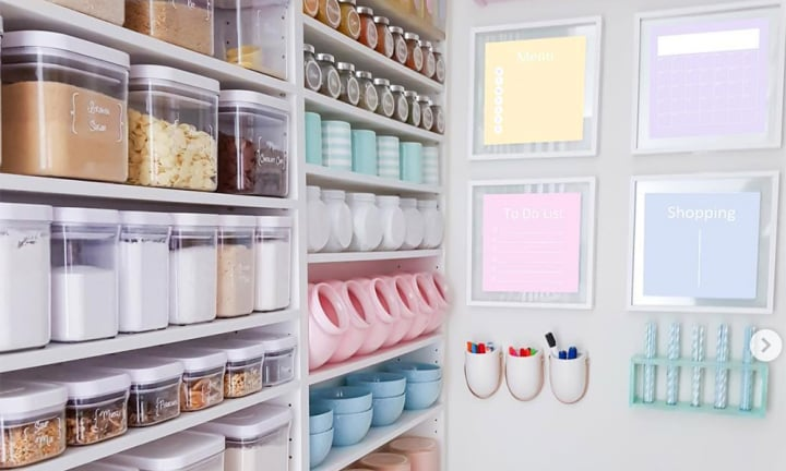 People hate this perfectly organised pantry