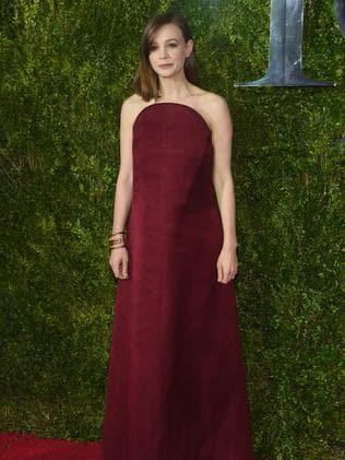 Carey Mulligan attends the 2015 Tony Awards.