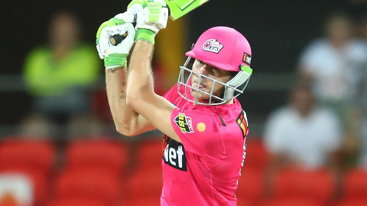 Debutant's incredible knock all for nothing as Sixers skipper goes NUTS in epic BBL finish – Fox Sports