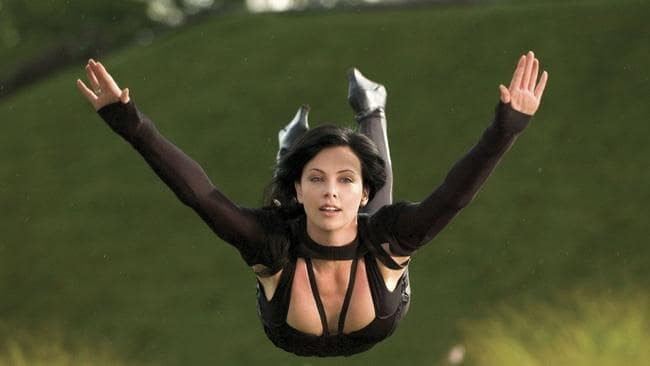 Charlize Theron is much more comfortable using stunt doubles now.
