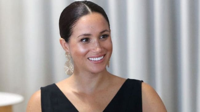 Meghan Markle on tour in South Africa. Image: Getty Images.