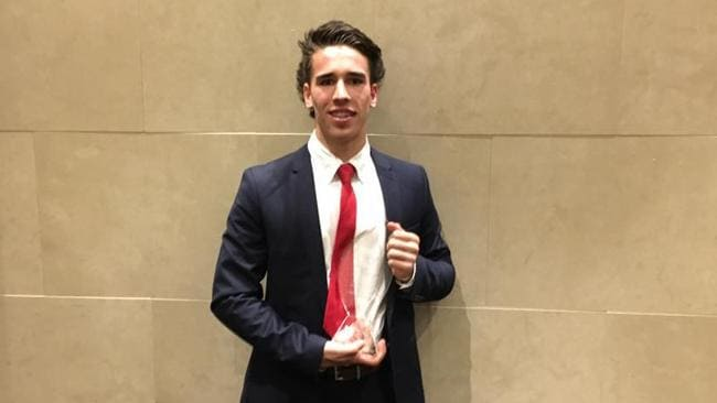 Lachlan Murphy took home Northern Knights best and fairest last year. Picture: Northern Knights.