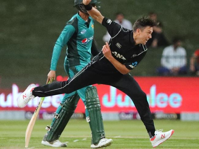 New Zealand's Trent Boult was on fire.