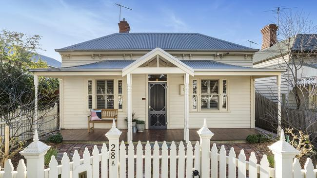 28A Lawton Ave, Geelong West has a traditional facade.