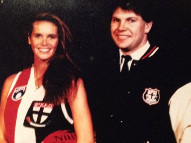 Danny Frawley's cherished photo with Elle Macpherson.