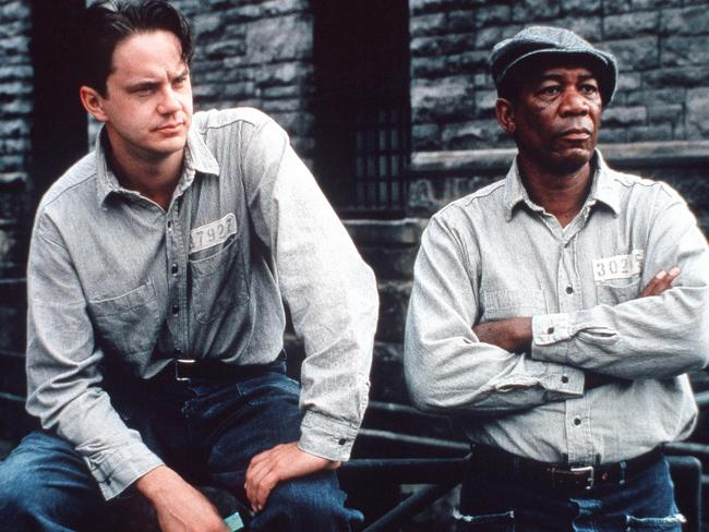A scene from The Shawshank Redemption. Picture: Ronald Grant Archive/Alamy
