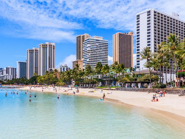Woo-hoo! We're off to Waikiki.