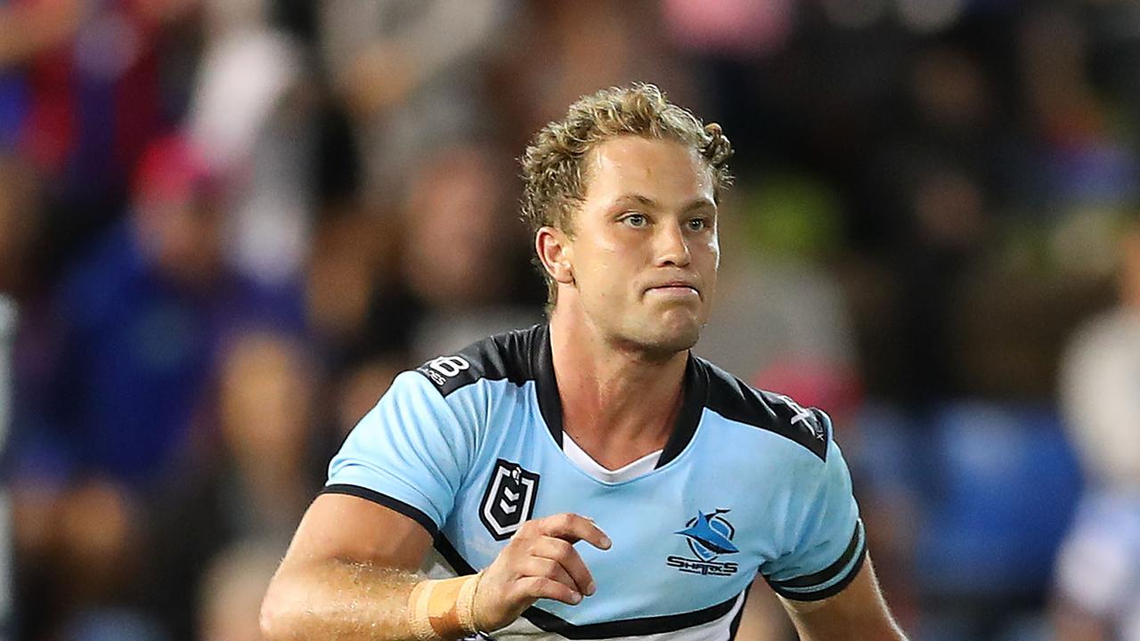 Matt Moylan of the Cronulla Sharks