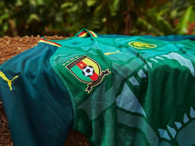 Cameroon's new home kit won't feature at the 2018 World Cup.