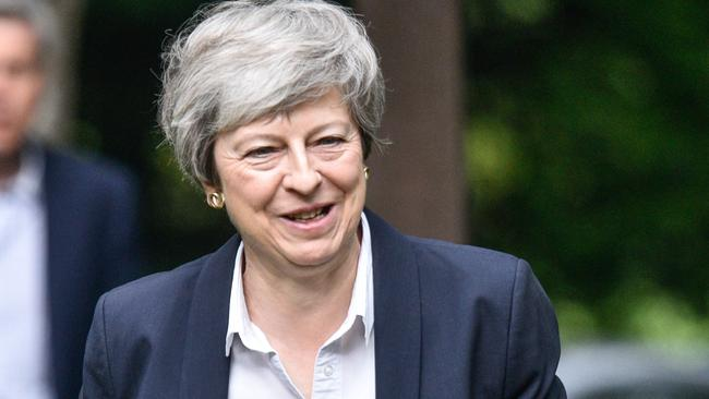 British Prime Minister Theresa May will not be the one to greet Mr Morrison as he arrives in London. Picture: Peter Summers/Getty Images