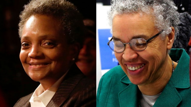 Lightfoot beat Toni Preckwinkle for the job. Source: Getty Images