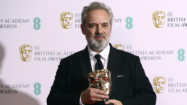 Director Sam Mendes won the Best Director award for  <i>1917 </i>at the Baftas in London earlier this week. Picture: Joel C Ryan/Invision/AP