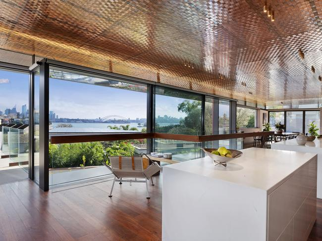 No. 1 Wingadal Pl, Point Piper, is a brand new designer home.
