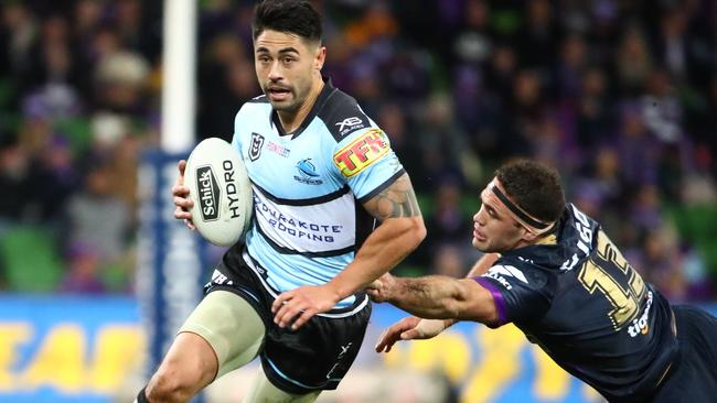 Cronulla's Shaun Johnson could headline a brilliant New Zealand side. Picture: Getty Images