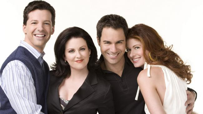 Does anyone actually buy that Will and Grace wouldn't speak for 20 years? NBC Photo: George LangeSource:News Limited