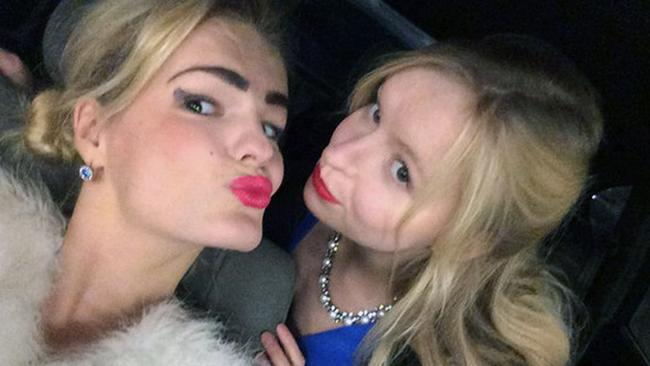 Stefania (left) was stabbed more than a hundreds times by her sister Elizaveta (right) Picture: East 2 West News/Australscope