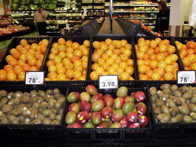 Not enough ... Australia's GST covers less than half of what households consume because of exemptions for items such as fresh food.