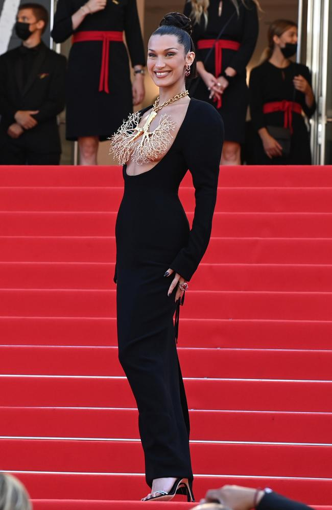 A full-length view of the outfit. Picture: Getty