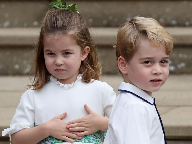 At school Prince George is known as PG. Picture: AFP