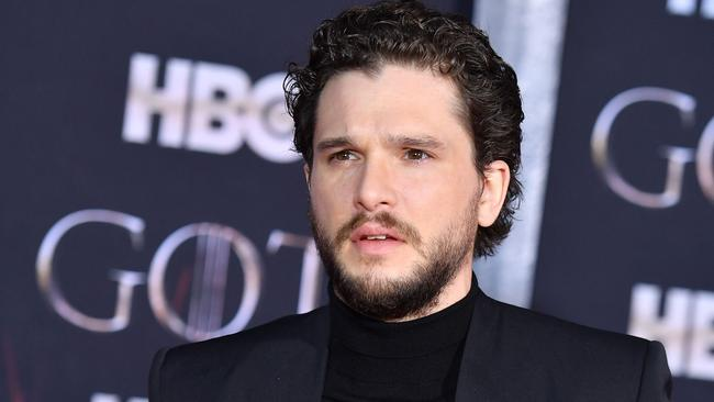 "Kit Harington described the ending as ""disappointing"". Picture: Angela Weiss/AFP"