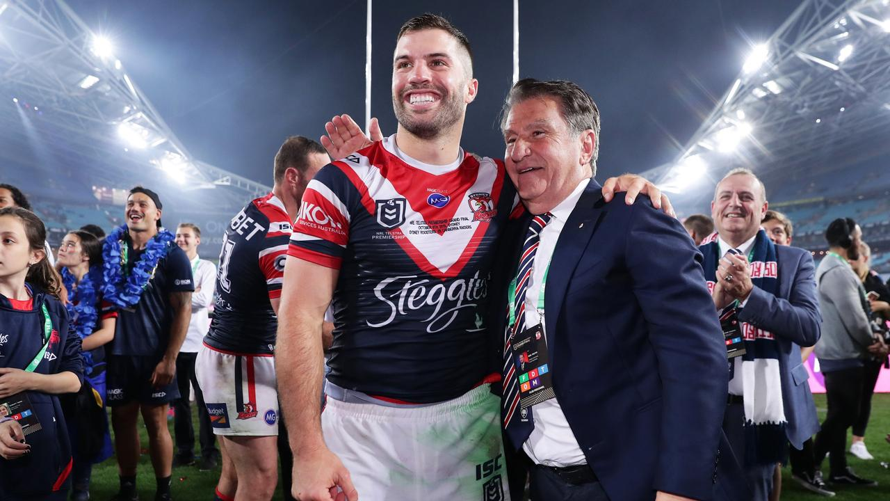 Nick Politis is like a father figure at the Roosters.