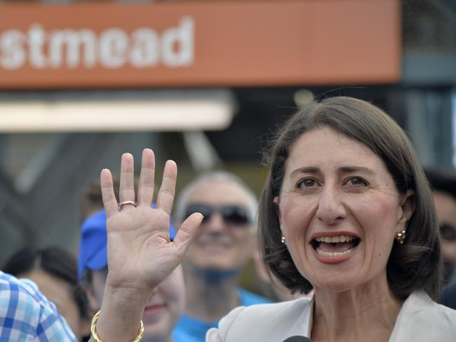 NSW Premier Gladys Berejiklian promises construction on the new Metro West rail line will be accelerated to start in 2020.