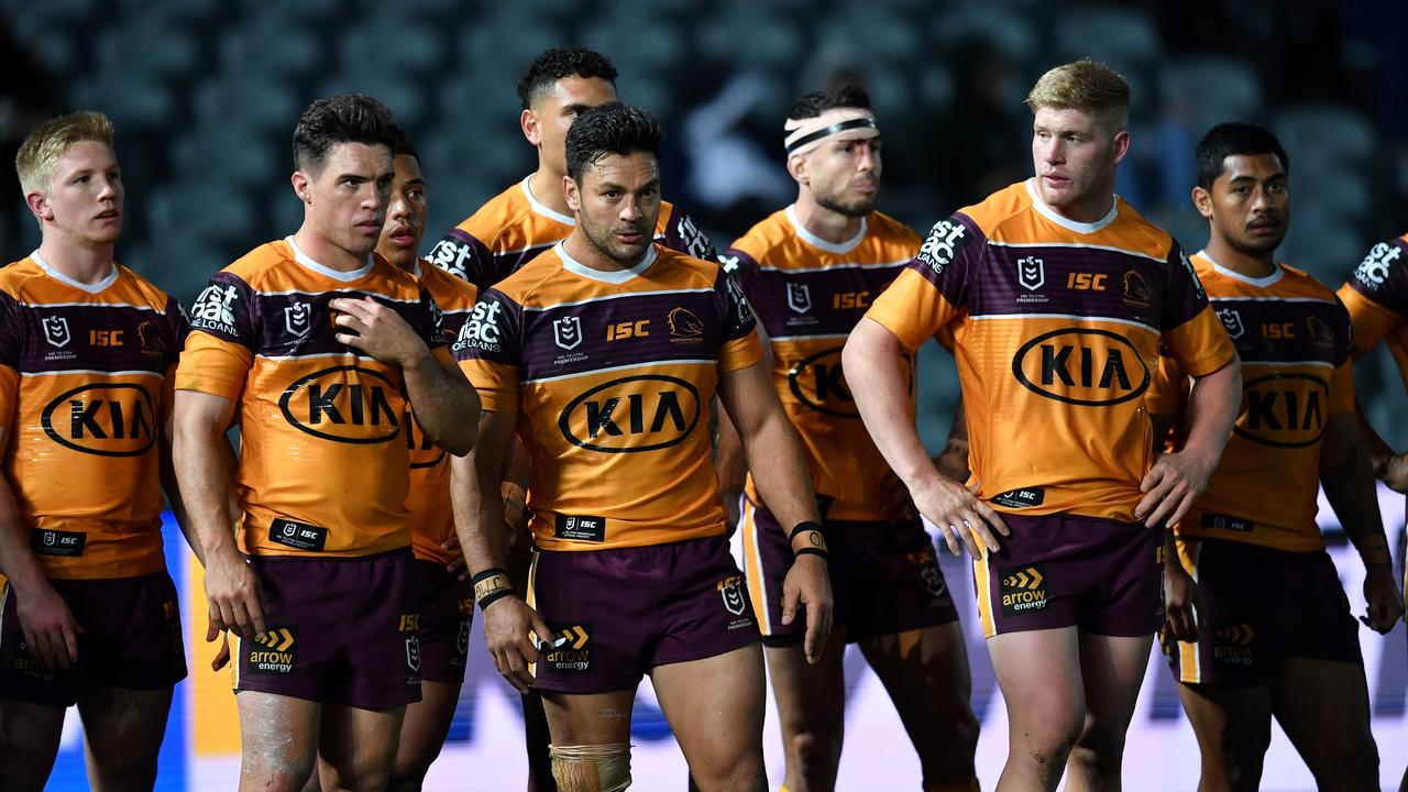 Michael Ennis says the Broncos need to have some tough conversations.