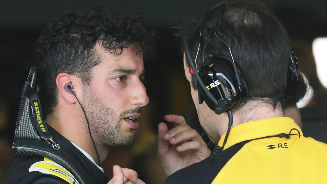 Daniel Ricciardo admitted he was unsure why Renault retired his car in Melbourne.