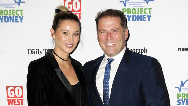 Stefanovic and Yarbrough revealed their engagement earlier this year. Picture: Christian Gilles