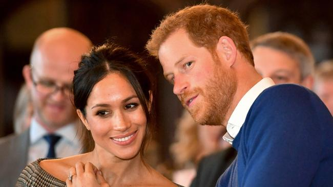 "The royal couple said they will work to be ""financially independent"". Picture: Ben Birchall/WPA Pool / Getty Images"