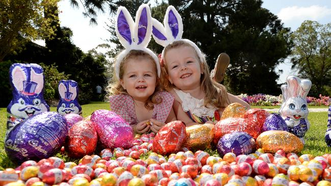 It's a big job to make sure everyone has enough Easter eggs for an Easter egg hunt.