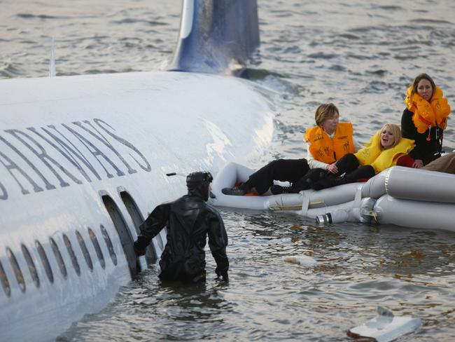 """Bird strikes caused engine failure on a US Airways jet carrying 150 people. The pilot managed to safely ditch the plane on New York's Hudson River in what is now called the """"Miracle on the Hudson""""."""