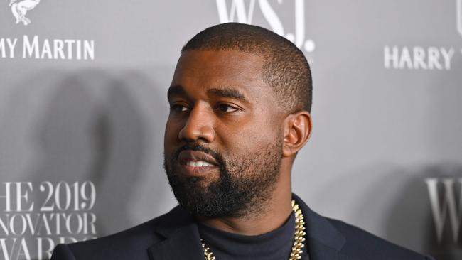 Kanye says he wants to buy the paparazzi. Picture: AFP.