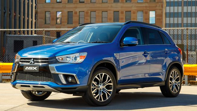 The Mitsubishi ASX is one of the country's favourite SUVs.