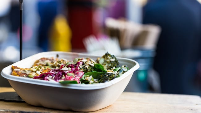 A protein-packed salad will keep you full. Image: iStock