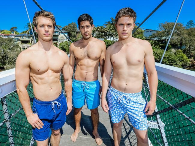 Westaway was a regular on Home and Away between 2012 and 2016. Picture: Craig Greenhill