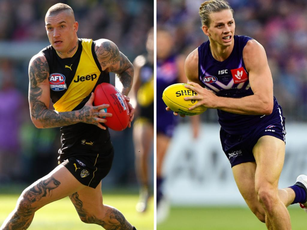 Dusty and Paddy lead the big names for Victoria against Nat Fyfe's All Stars.