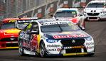 NEWCASTLE, AUSTRALIA - NOVEMBER 24: (EDITORS NOTE: A polarizing filter was used for this image.) Jamie Whincup drives the #88 Red Bull Holden Racing Team Holden Commodore ZB during race 2 of the Newcastle 500 as part of the 2019 Supercars Championship on November 24, 2019 in Newcastle, Australia. (Photo by Daniel Kalisz/Getty Images)