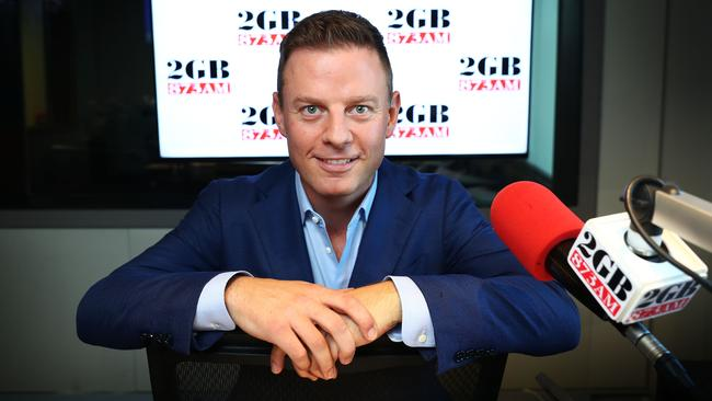 Ben Fordham is also the popular 2GB radio drive presenter. Picture: John Feder