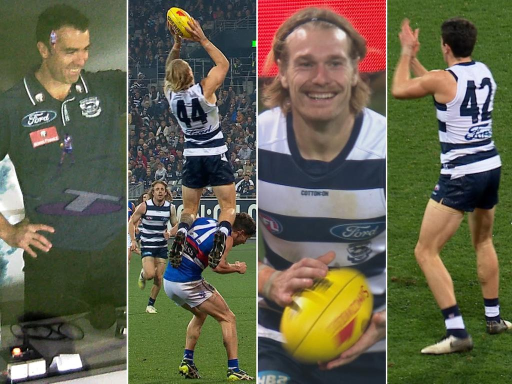 Tom Stewart's specky mark had teammates, coaches and even himself smiling and applauding.