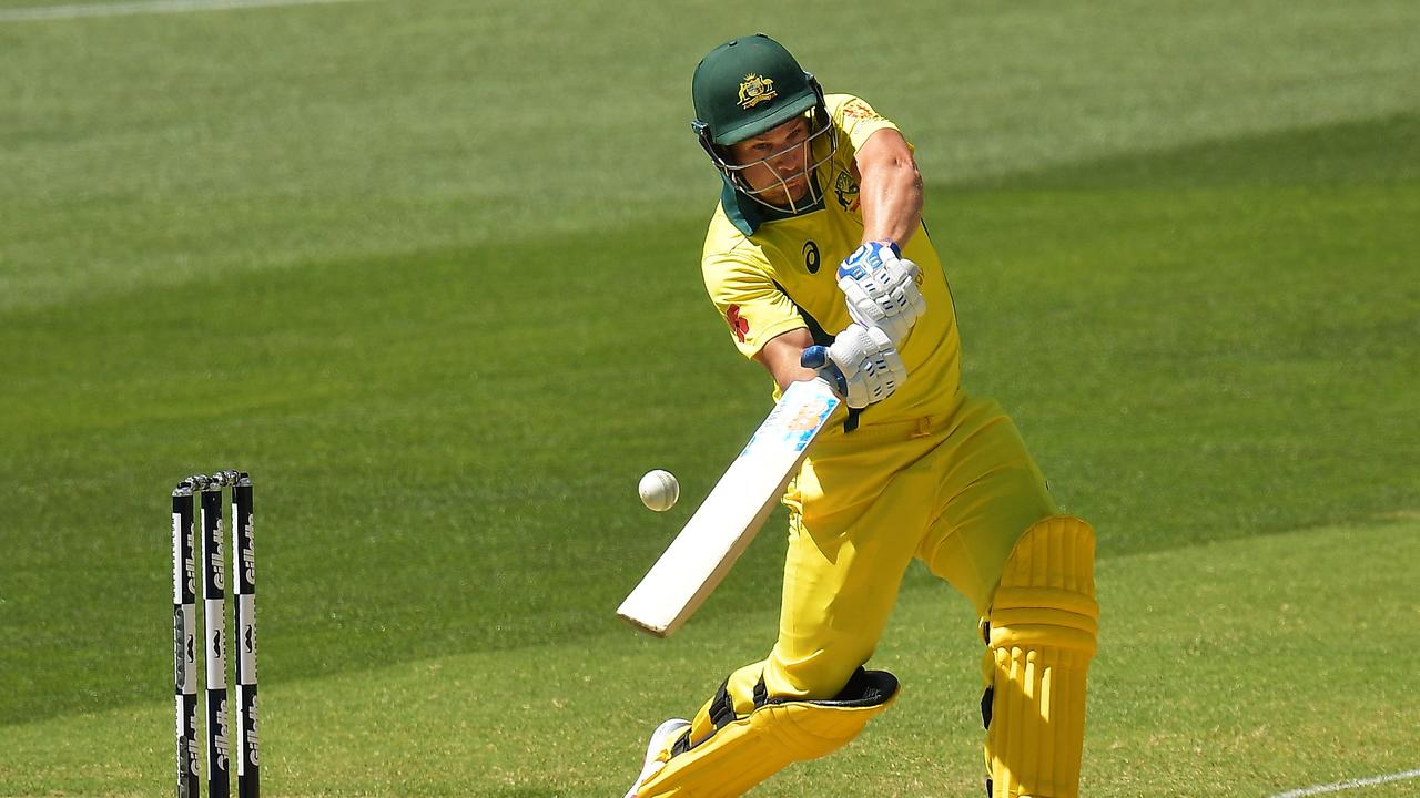 Aaron Finch is aiming to return to form in the one day arena.