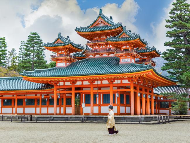 Kyoto is one of Japan's most popular destinations for tourists. Picture: iStock