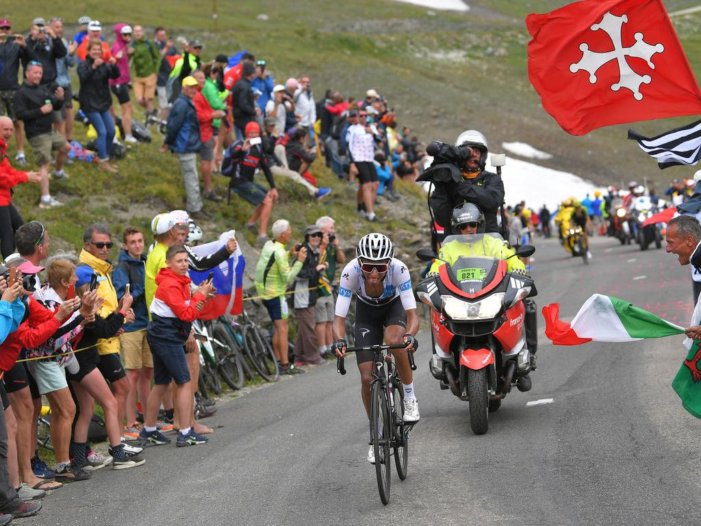 Egan Bernal. (Photo by Tim de Waele/Getty Images)