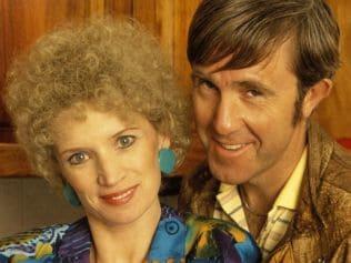 Has Aussie TV ever seen a cuter couple? Image: 'Kath & Kim'