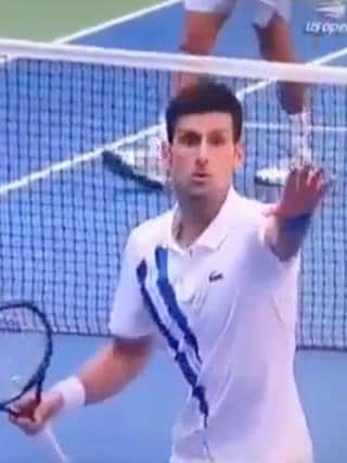 Novak Djokovic Sorry After Being Defaulted From Us Open For Striking Lineswoman With Ball
