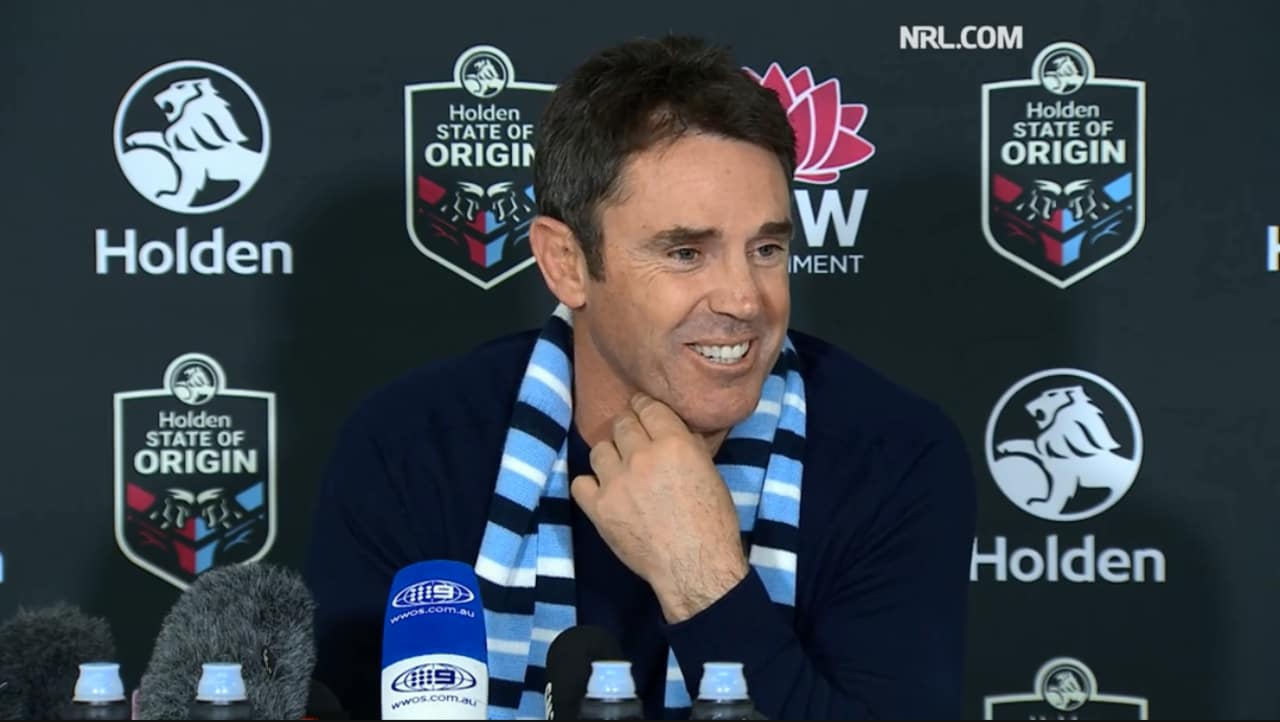 A satisfied Brad Fittler talks about the standards he's been setting in Blues camp.
