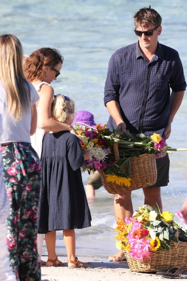 Farewell beach service for Alby Davis at Boat Harbour. PICTURE CHRIS KIDD