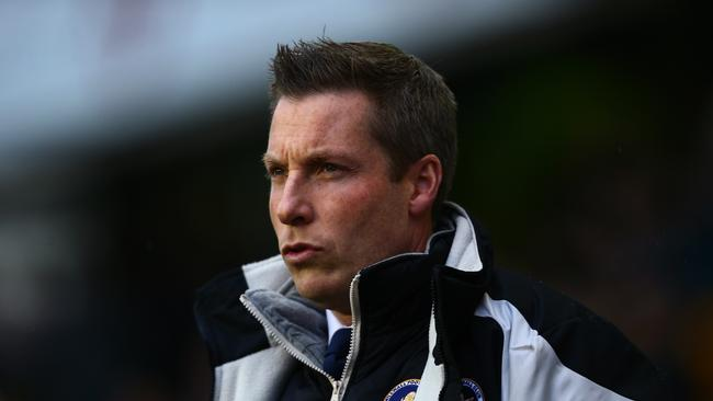 Neil Harris, manager of Millwall in 2017.